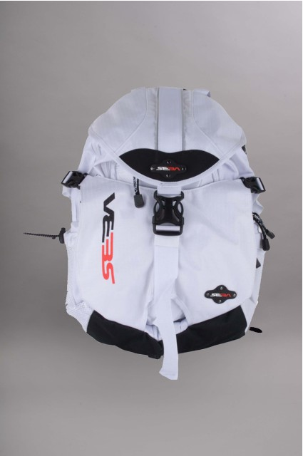 Seba-Backpack Small White-INTP