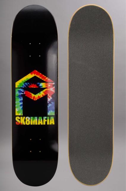 Plateau de skateboard Sk8mafia-Skatemafia House Logo Tie Dye 8.1-2016
