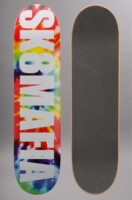 Plateau de skateboard Sk8mafia-Skatemafia Og Logo Tie Dye  7.75-2016