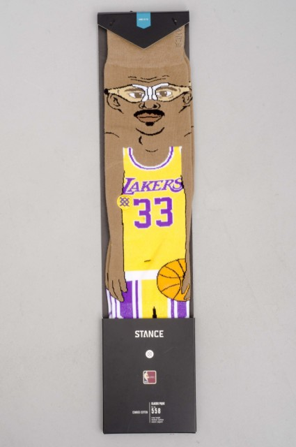 Stance-Nba Legends Cartoon Kareem-SPRING16