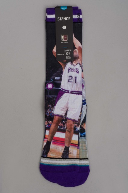 Stance-Nba Legends Divac Williams-SPRING16