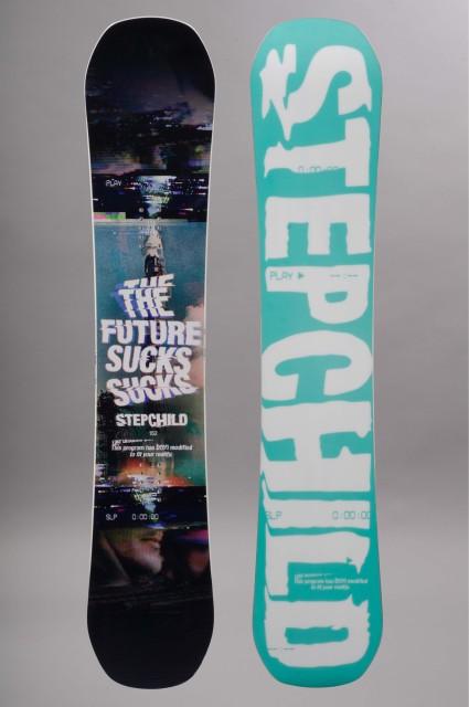 Planche de snowboard homme Stepchild-Powder Sucks-FW15/16