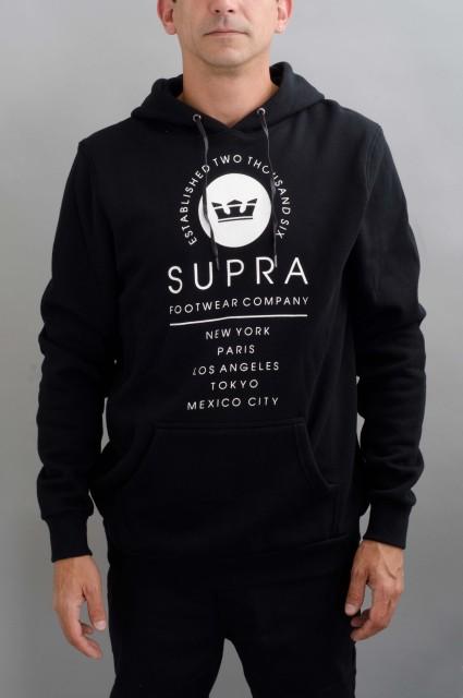Sweat-shirt à capuche homme Supra-Caske Pullover-FW16/17