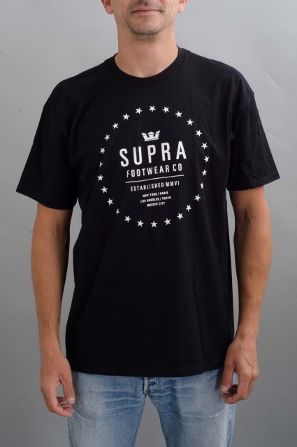 Tee-shirt manches courtes homme Supra-Star Seal-FW16/17
