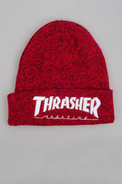 Thrasher-Beanie Embroidered-SPRING16