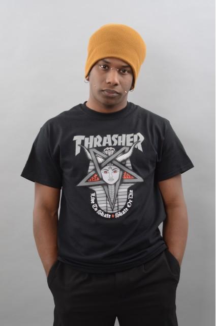 Tee-shirt manches courtes homme Thrasher-Goddess-FW17/18