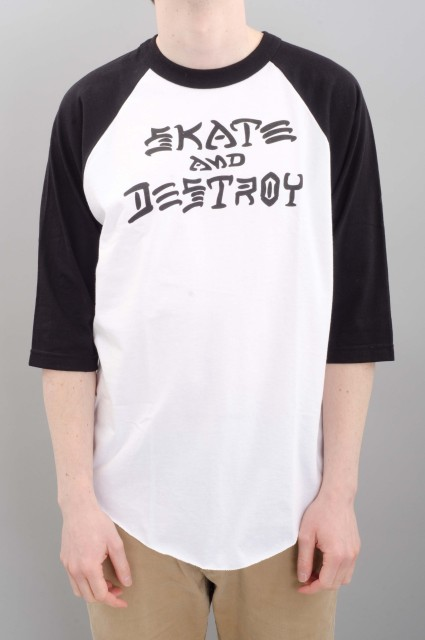 Tee-shirt manches longues homme Thrasher-Skate & Destroy-SPRING16