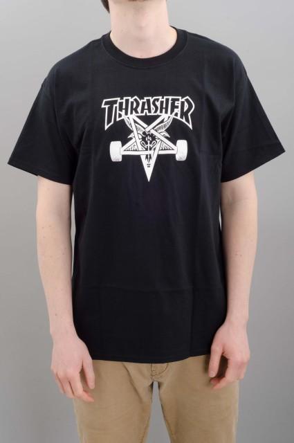 Tee-shirt manches courtes homme Thrasher-Skate Goat-FW17/18