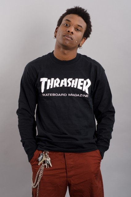 Tee-shirt manches longues homme Thrasher-Skate Mag-SPRING18