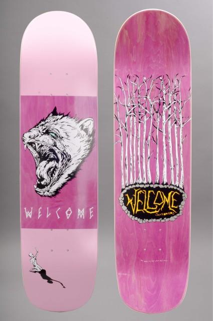 Plateau de skateboard Welcome-Tasmanian Angel Bunyip Pink-INTP
