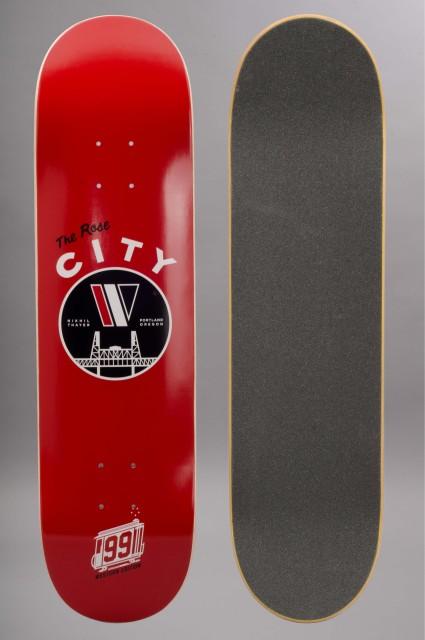 Plateau de skateboard Western edition-Nikhil Rose  City-INTP