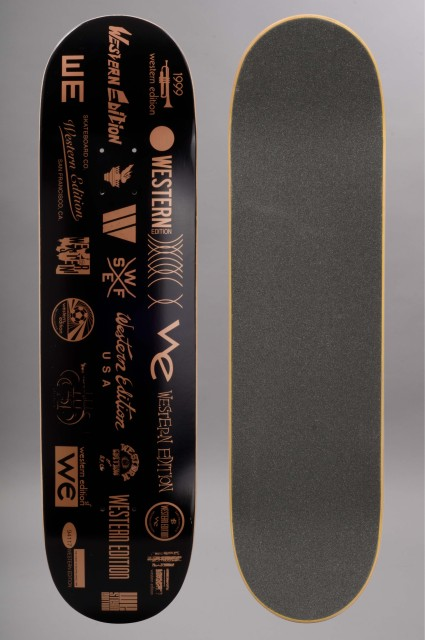 Plateau de skateboard Western edition-Past Team-INTP
