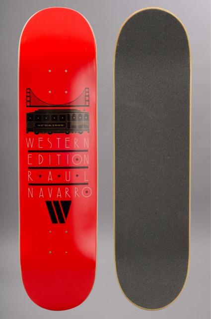 Plateau de skateboard Western edition-Raul Route-INTP