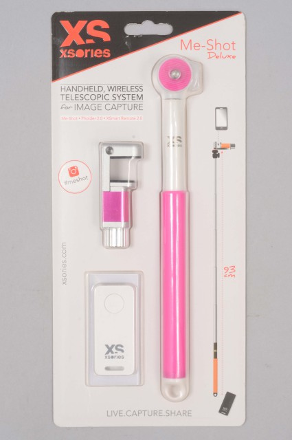 Xsories-Me Shot Deluxe 2.2 White/pink-INTP