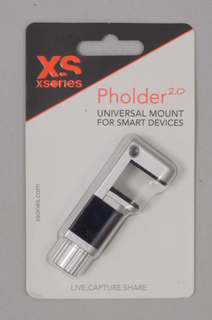 Xsories-Pholder 2 Silver/black-INTP