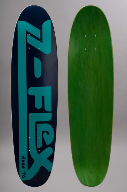 Plateau de skateboard Z-flex-Discharge Blue-INTP