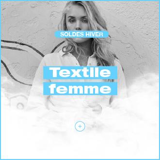 textile femme soldes